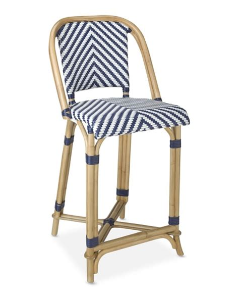 parisian bar stools parisian bistro woven counter stool williams sonoma