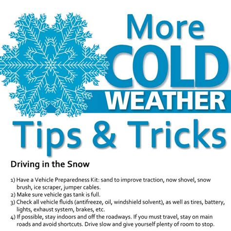 8 Tips On Driving Safe In Snow by 1000 Images About Safety Tips On Cold Weather