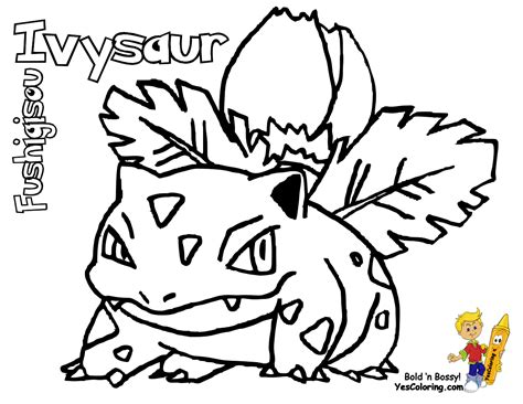 realistic pokemon coloring pages fo real pokemon coloring pages bulbasaur nidorina