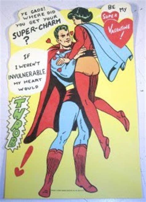 superman valentines dc comics fortress of memorabilia vintage superman