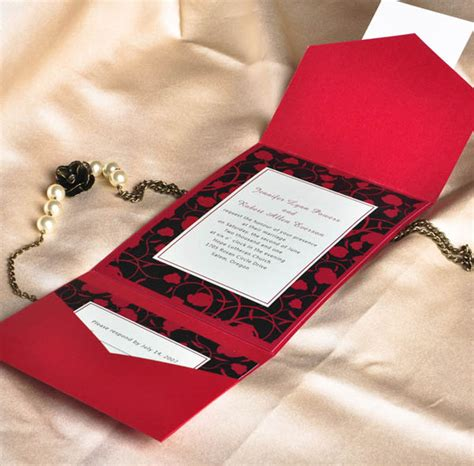 pocket wedding invitation cards 20 unique wedding invitation ideas easyday