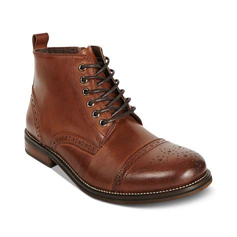 steve madden mens chukka boots steve madden essex chukka boots in brown for lyst