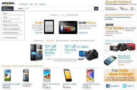 amazon products amazon india to sell mobiles accessories business line