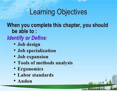job design hrm definition human resources and job design bec doms