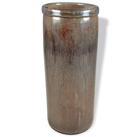 Brown Glass Vases by Brown Sugar Lip Cylinder Glass Vase Couleur