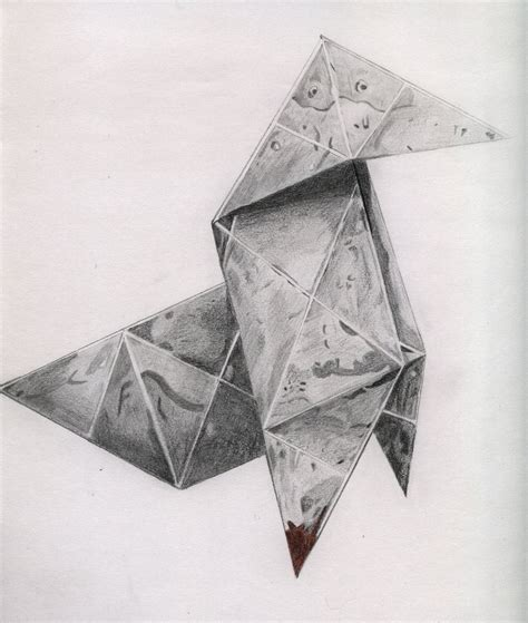 drawing origami 1000 images about drawings of paper on