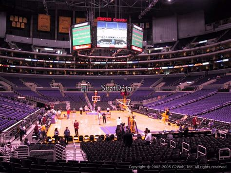 section 116 staples center staples center section 116 seat views seatscore