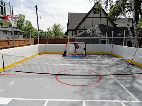 backyard roller hockey rink backyard inline hockey rink prowall sport resource group