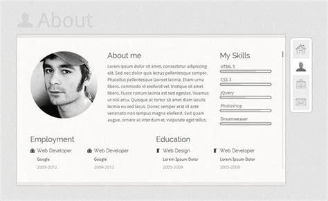20 free and premium vcard cv web templates xdesigns 20 free and premium vcard cv web templates xdesigns