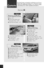 2008 lexus ls 460 manuals