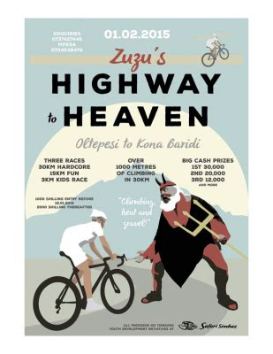 thinkgeoenergy supports highway to heaven cycling race in