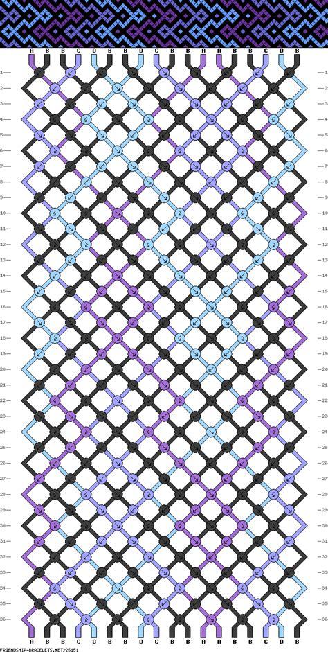 friendship bracelet colors friendship bracelet pattern 18 strings 4 colors a 3 b 9