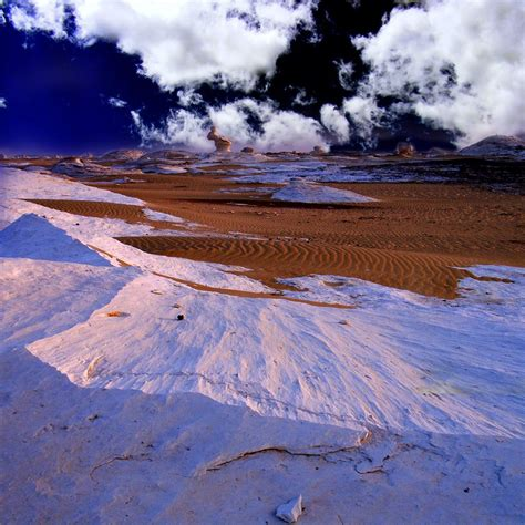 snow in desert sahara snowfall desert dunes covered in snow in algeria