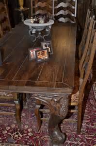 meubles de salle 224 manger table de bois massif faites