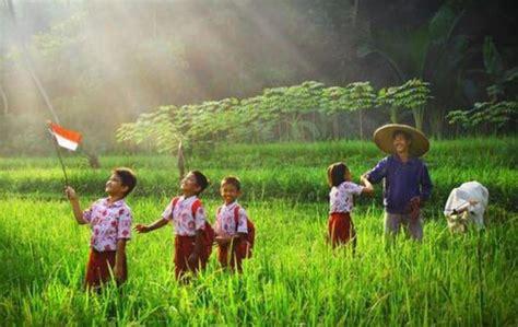 drama film aku anak indonesia mengenal profesi petani dan aneka tanaman dengan lagu anak
