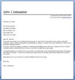 Job Decline Letter Sample Resume Downloads
