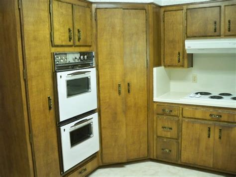 1970s Kitchen Cabinets Ideas ? Railing Stairs And Kitchen