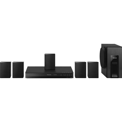 panasonic sc xh105 dvd home theater sound system sc xh105 b h