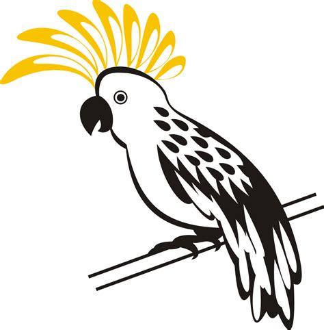 format gambar svg gambar burung kakatau vector kumpulan logo indonesia