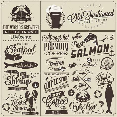 design menu vintage vintage style restaurant menu designs stock vector