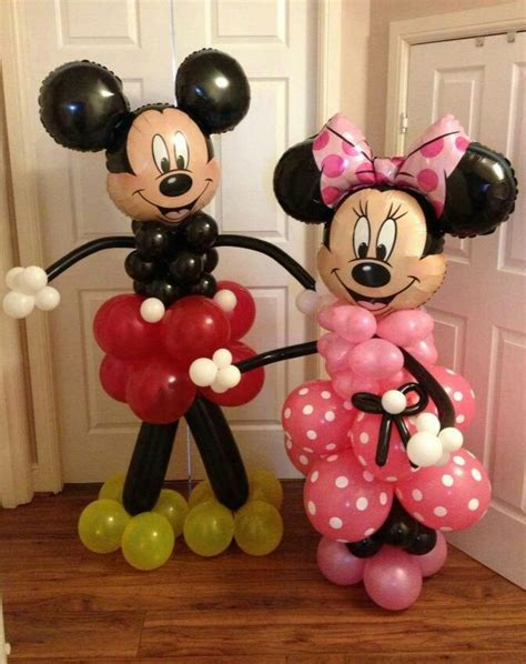 Minnie Mouse Balloon Decoration by Mickey Mouse Balloon Decorations Favors Ideas
