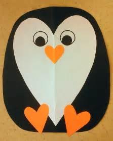 penguin craft template penguin craft template