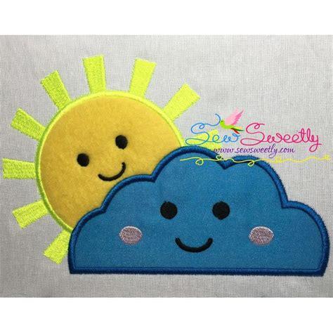 Applique Designs by Sun Cloud Machine Applique Design