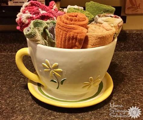Home Decorating Idea Declutter Kitchen Towels Amp Dish Cloths 15 Minute Mission