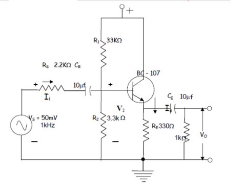 common source lifier resistor values electronic devices and circuits lab notes common collector lifier studentboxoffice in