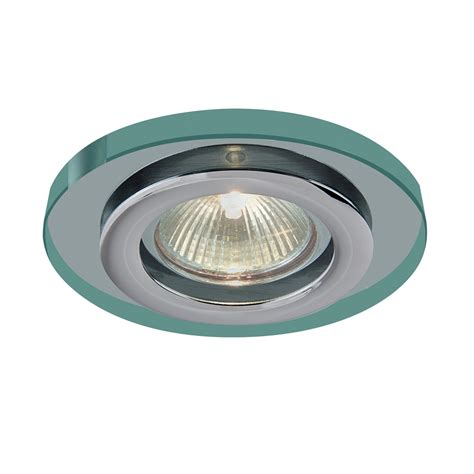 recessed bathroom lights searchlight 5150cc ip55 shower proof downlighter