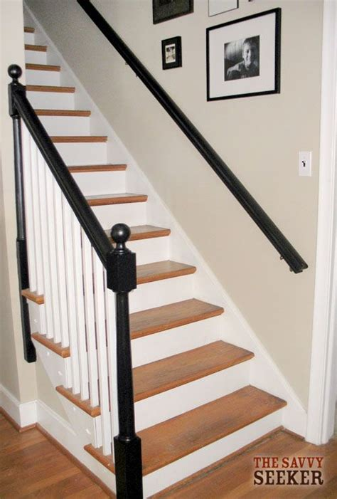 ideas for painting stair banisters 17 best ideas about black banister on pinterest banister