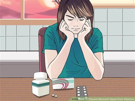 supplement upset stomach 3 ways to prevent stomach upset from vitamins wikihow