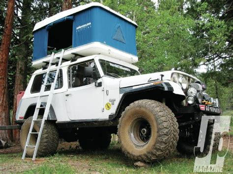 Tents For Jeeps Jeep Rooftop Tents And Trailers Jp Magazine