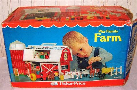Fisher Price On The Farm judy s vintage fisher price complete play sets