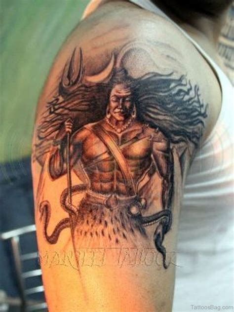 perfect tattoo 35 shiva tattoos on shoulder