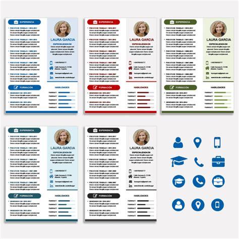 Plantillas De Curriculum Con Foto En Word 50 tipos de curriculum vitae para diferenciarte de tu