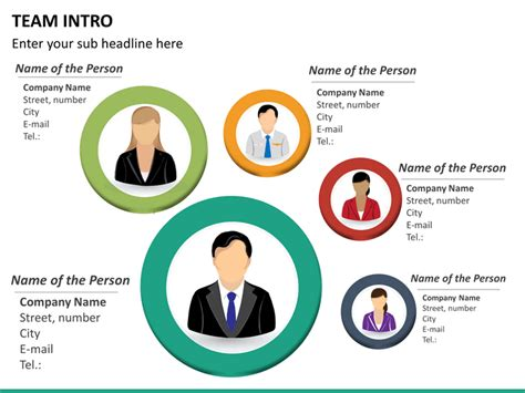 Team Introduction Powerpoint Template Sketchbubble Team Powerpoint Templates Free