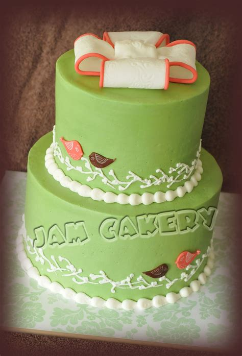 Vintage Baby Shower Cakes by Vintage Birdie Baby Shower Cake J A M Cakery