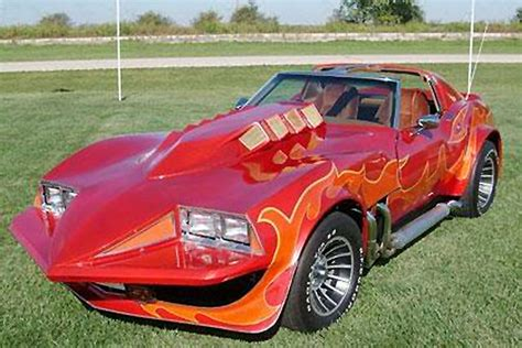 car from hamill s quot corvette summer quot being