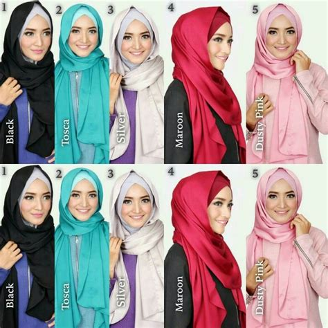 Kerudung Pashmina Pashmina Instant Instant instant freya material inner korean jersey attcahed with shawl shawl from matte satin