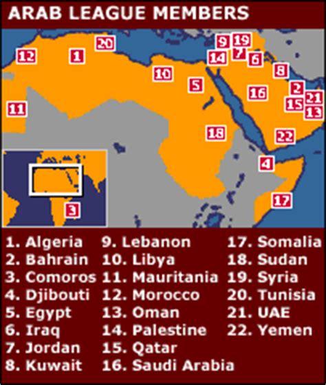 arab league map news profile arab league