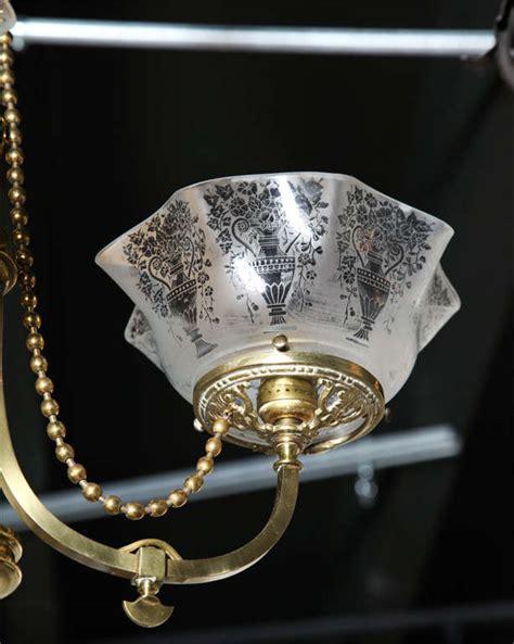 Antique Gas Light Fixtures Antique Brass Gas Light Fixture At 1stdibs