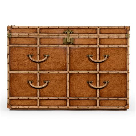 Trunk Style Chest Of Drawers by Travel Trunk Large Chest Of Drawers Swanky Interiors