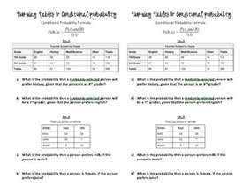 Conditional Probability Worksheet by 25 Best Ideas About Conditional Probability On