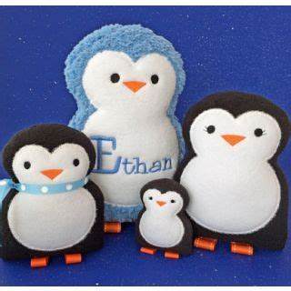 meet palmer penguin a doll sized softie or christmas 138 best in the hoop images on pinterest