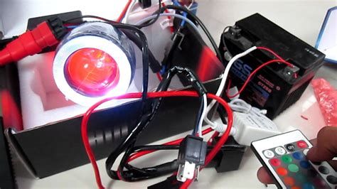 Lu Hid Yamaha Mio hid projector w remote by partszone accessories
