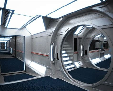 Spaceship Interior Layout by 104 Best Science Fiction Images On