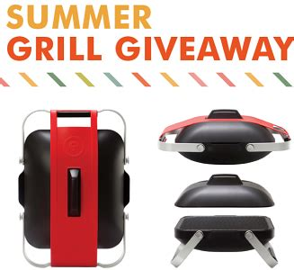 Grill Sweepstakes - giveaway zephyr summer grill