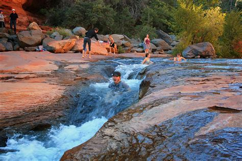 park rock slide rock state park sedona arizona adventures in southern california