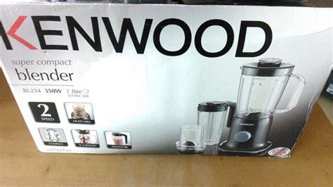 Kenwood Blender Shaker 3 In 1 Compact Bl 237 Bl237 Putih 1 new kenwood bl234 3 in 1 blender mill smoothie